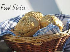 Μάφινς με ελιά (νηστίσιμα) - Food States Muffin, Bread, Breakfast, Lent, Blog, Morning Coffee, Brot, Lenten Season, Muffins