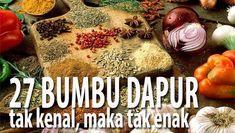 Orang INDONESIA Wajib Tahu! 27 Bumbu Dapur Rahasia Lezatnya Masakan Nusantara | Resep Masakan Praktis Rumahan Indonesia Sederhana