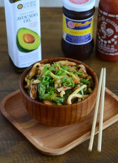 Shanghai Noodles + Cookbook and Avocado Oil Giveaway!