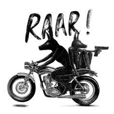 Cafe Racer Pasión — Leon Wilson - Raar! | www.caferacerpasion.com