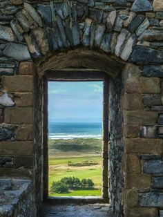 View from Harlech Castle over Tremadoc Bay, Gwynedd, Wales by