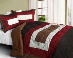 full queen alternative down comforter two pillow shams cotton