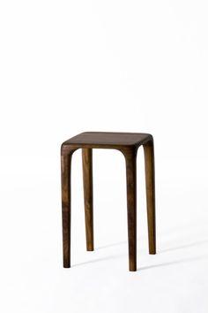 사각 stool size 290 290 450 material walnut, oil, shellac, varnish finish