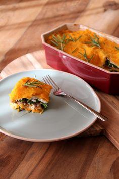 pompoen spinazie lasagne Recept voor 4 personen Lasagne MET gehakt: 39 PP = 10 PP per persoon Lasagne ZONDER gehakt: 16 PP = 4 PP per persoon!