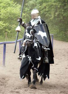 black knight alone by chavi-dragon.deviantart.com on @DeviantArt