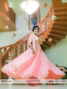 Pretty In Pink..!! #Landmarkdesignerstudio #EthnicWear #DesignerOutfits #Chandigarh