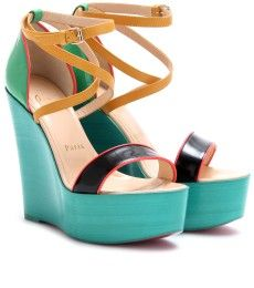 A little color blockage courtesy of Christian Louboutin. ^SD