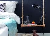DIY Tutorial: schwebender Nachttisch (bedside table) | Homestory