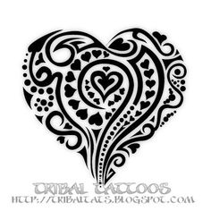 Heart Tattoo Designs | Labels: heart tattoos , love tattoos , pictures of heart tattoos ...