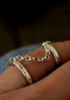Doublering. Bangles, Bracelets, Rings, Jewelry, Jewlery, Jewerly, Ring, Schmuck, Jewelry Rings