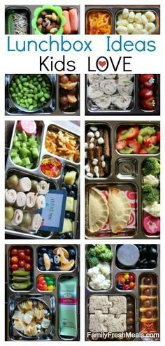 100+ School Lunch Box Ideas -