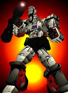 MEGATRON COLOR by Mjones456.deviantart.com on @deviantART