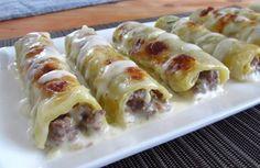 Meat Cannelloni Recipe on Yummly. @yummly #recipe