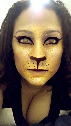 Dayummmm I look #HOT as a #Feline.. Is it too late to switch #Species?? Next time... Lmaoooo ✅