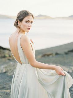 Light Versus Dark: An Emotional Icelandic Bridal Session by Nguyen Takeba Wedding Pics, Wedding Shoot, Wedding Styles, Wedding Gowns, Wedding Blog, Wedding Photoshoot, Destination Wedding, Bridal Poses, Bridal Session