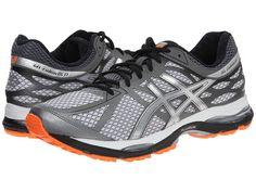 ASICS ASICS - GEL-CUMULUS(R) 17 (WHITE/SILVER/HOT ORANGE) MEN'S RUNNING SHOES. #asics #shoes #