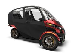 Little two-seater EV has 70-130 mile range, a top speed of 80mph, and costs $12K