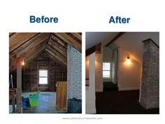 Attics Converted Into Master Bedroom Attic Remodel To A Bedroom