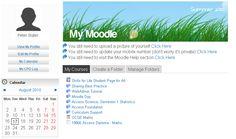 Moodle Task List My Calendar, Homework, No Worries
