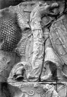 Wolf Warriors: the Romans, the Dacians and the Vlachs; Dracula and Hitler = I am Proud of my Ancestors , Dacii - Dacia ( Getia - Geea ) Romanian People, Wolf People, Trajan's Column, Wolf Warriors, Spanish Armada, Transylvania Romania, Dracula, Ancient History, Tatuajes