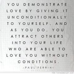 ~ Paul Ferrini