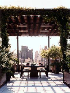 Manhattan Roof Terrace - Projects - Sawyer | Berson