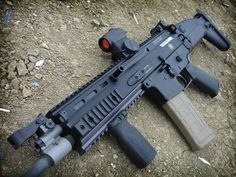 FN SCAR... I'd only have to work 21 doubles to pay for it