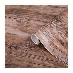 d-c-fix Decorative Self-Adhesive Film, Rustic Wood, x Roll Solid Wood Flooring, Flooring Options, Laminate Flooring, Kitchen Flooring, Do It Yourself Projects, Cool Diy Projects, Dc Fix, Installing Hardwood Floors, Barnyard Party