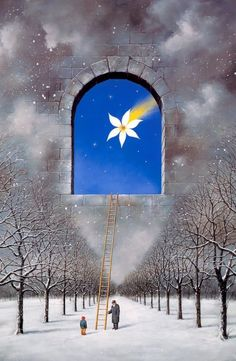 Rafal Olbinski – Star of Bethlehem