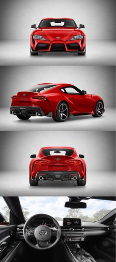 2019 Toyota Supra revealed prices announced Toyota Supra, Toyota Cars, Super Sport Cars, Super Cars, New Model Car, D 40, Engin, Unique Cars, Japanese Cars