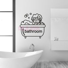 99f70ab82070 12 Best Bathroom Stickers images