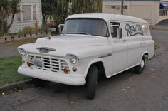 1955 chevy truck | OLD PARKED CARS