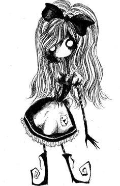 Alice Doodle by KennedyxxJames