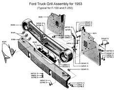 1953-1956 Ford Truck Mustang II KIt Crossmember Bolt On