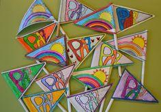 Banderines Día de la Paz (Peace pennants)
