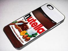 Nutella  - - -  iphone 5 case, iphone case,  iphone 5, iphone 5 cover, iphone hard case