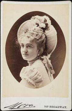 Lady Mandeville (neé Consuelo Yznaga) costumed as guest of honor for the infamous Vanderbilt Costume Ball of 1883.  She was Consuelo Vanderbilt's godmother