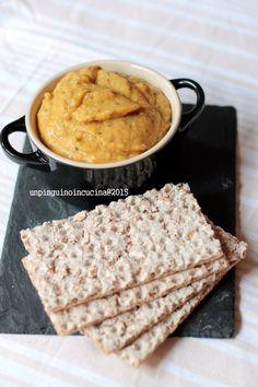 Cannellini Bean and Roasted Pepper Hummus - Hummus di cannellini e peperone arrostito