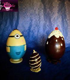 Uova di cioccolato artigianali