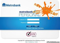 Today, Metrobank announces its new version of MetrobankDirect (Metrobank's online banking facility).  Read more: http://www.affordablecebu.com/load/banking/metrobank_new_version_of_online_banking_metrobankdirect/13-1-0-28361