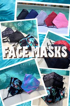 Reusable Cotton Face Masks. Our reusable face masks help filter dust, bacteria, smoke, pollen and helps to prevent you from touching your face. Unisex Prints, Floral and Plain - Custom Designs available!