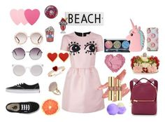 """soft pink"" by presumidas on Polyvore featuring moda, RED Valentino, Vans, Rosanna, Sophie Hulme, Alexander McQueen, Monki, Kosha, Chloé y Missguided"