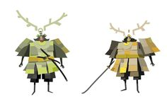 paper samurai ✤ || CHARACTER DESIGN REFERENCES | キャラクターデザイン • Find more at https://www.facebook.com/CharacterDesignReferences if you're looking for: #lineart #art #character #design #illustration #expressions #best #animation #drawing #archive #library #reference #anatomy #traditional #sketch #development #artist #pose #settei #gestures #how #to #tutorial #comics #conceptart #modelsheet #cartoon || ✤