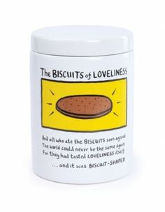Edward Monkton Biscuit Canister