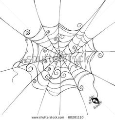 retro spider tattoo - Google Search
