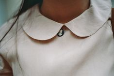 ...yep, another Peter Pan collar. I obviously have a thing for them! And, paired with a cameo, and long hair, PERFECTION!