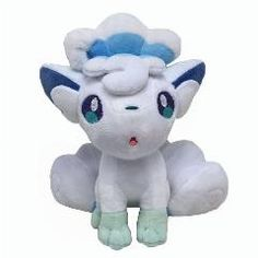 "[ 24% OFF ] Face Customer Fc  2017 Pokemon Alola Vulpix Stuffed Plush Doll 9"" Kids Gifts"