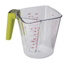Joseph Joseph 2-in-1 Measuring Jug 1L: This versatile, plastic measuring jug can measure liquids from as little as 5 ml (1/6 cup) in the smaller chamber, up to 1 litre (4 cups) in the larger chamber.