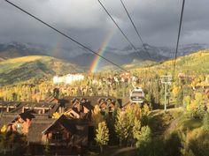 Gold Season aka Rainbow Season here in Telluride Telluride Hotels, Fire Festival, San Francisco Skyline, Colorado, Dolores Park, Rainbow, Seasons, Adventure, Gold