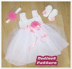 https://etsy.me/2L4XIzU  #crochet #tulle #spring #girldress #babygirl #pattern #weddingdress #crochetgirlgang #crochetdresspattern #crochetforgirl #crocheteveryday #crocheter #crochetpatterns #crochetando #crochetbabyclothingpattern #moderncrochet #happycrochet #croche